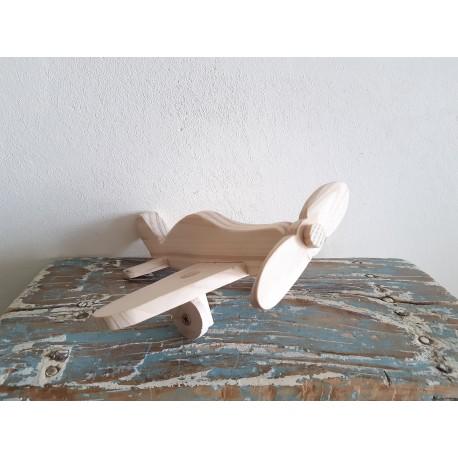Avion de jucărie din lemn